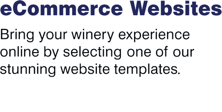 Bring your winery experience online by selecting one of our stunning website templates.